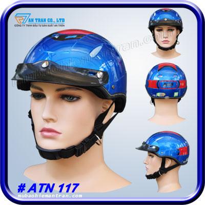 mũ bảo hiểm nửa đầu atn 117