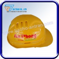 Mũ bảo hộ An Phong màu vàng